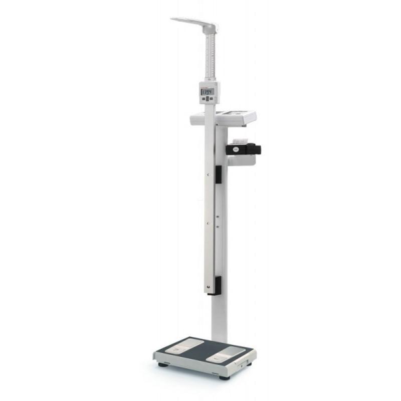WAGA medyczna Charder z pomiarem wody, tłuszczu i BMI MBF6010 ze wzrostomierzem i drukarką