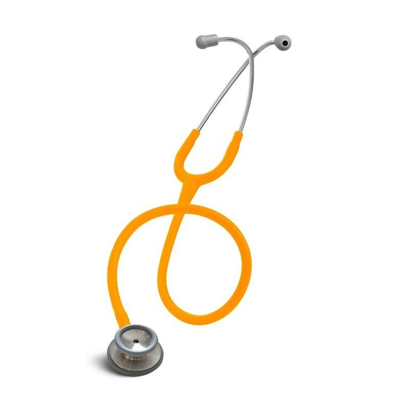Stetoskop internistyczny Spirit CK S601PF Majestic series adult dual head Pomarańczowy