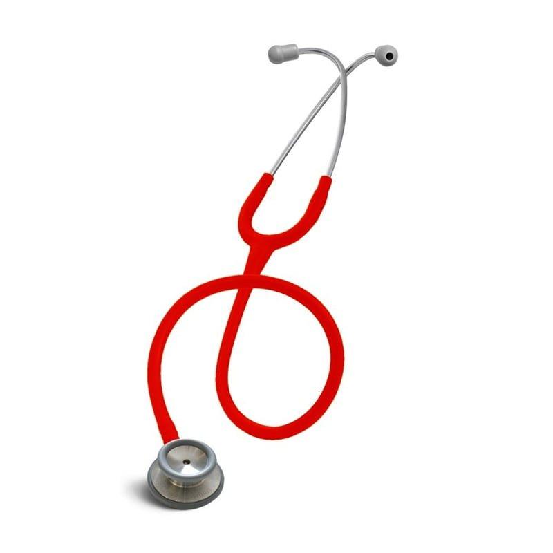 Stetoskop internistyczny Spirit CK S601PF Majestic series adult dual head Czerwony