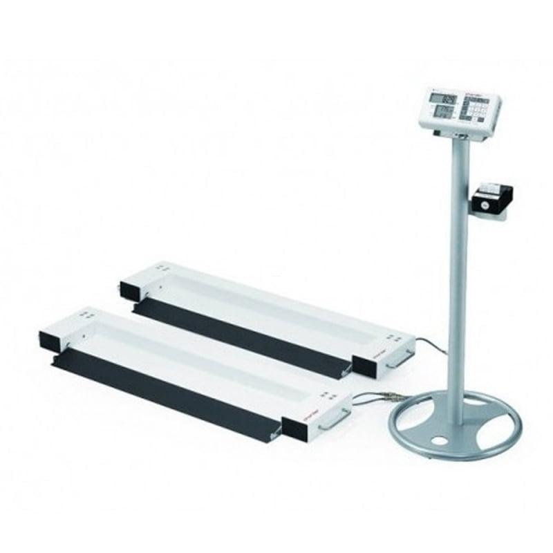 Waga łóżkowa najazdowa MS6000 z funkcją BMI na kolumnie (w zestawie)