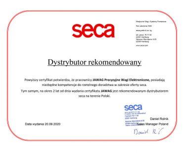 Certyfikat Seca