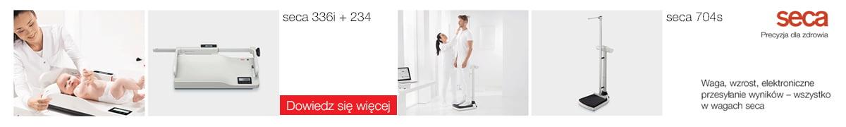 Medyczne wagi Seca 336i i 704s