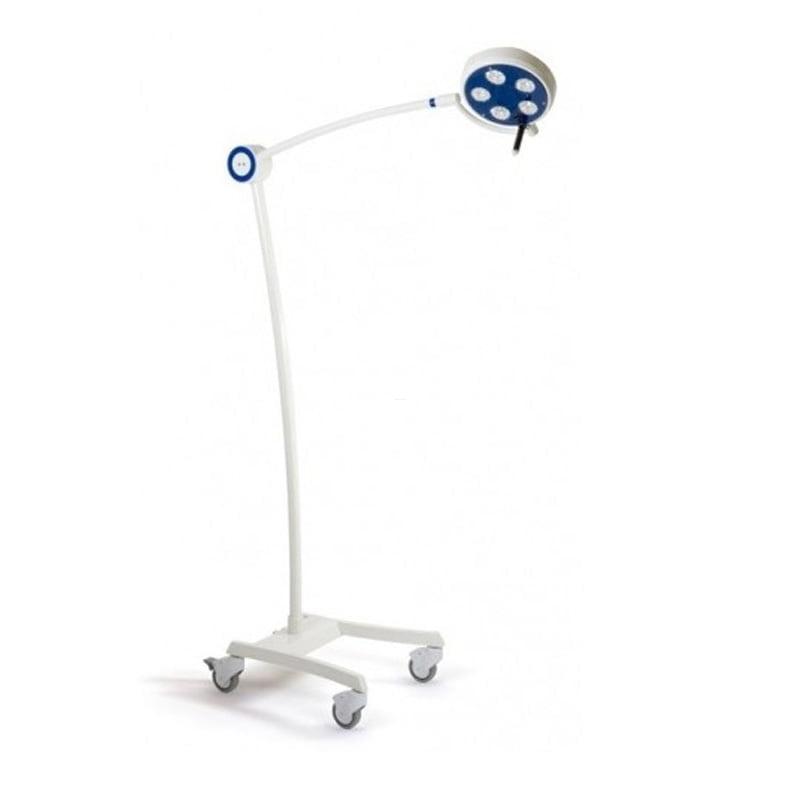 Lampa bezcieniowa LED ORDISI L21-25 zabiegowo-diagnostyczna z opcją  bezdotykowego wł/wył oraz regulacji natężenia oświetlenia - przejezdna statywowa