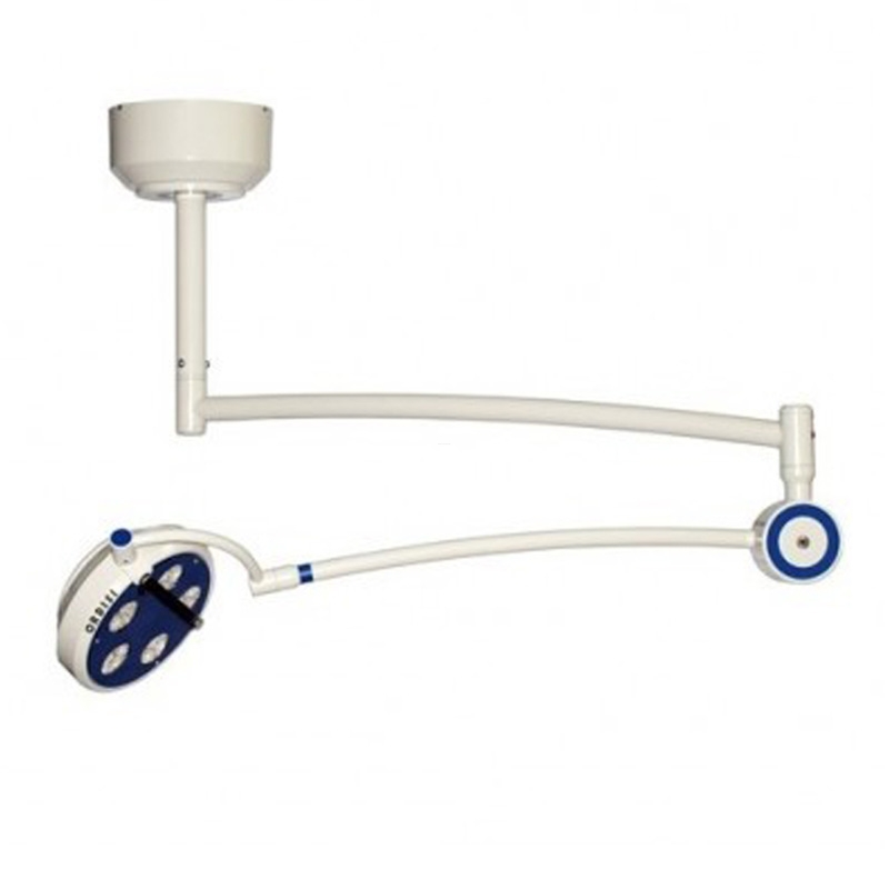 Lampa bezcieniowa LED ORDISI L21-25 zabiegowo-diagnostyczna z opcją  bezdotykowego wł/wył oraz regulacji natężenia oświetlenia -sufitowa