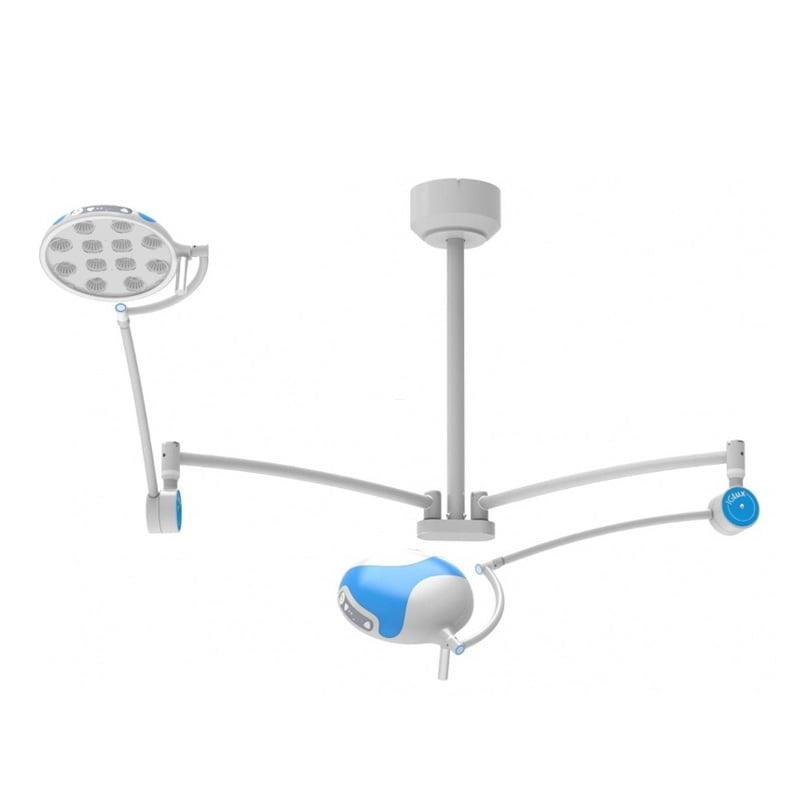 Lampa bezcieniowa LED IGLUX zabiegowo-operacyjna LED dwuczaszowa sufitowa IG-65DC